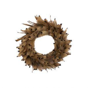 Wreath pheasant almond 15cm (phasianus colchicus)