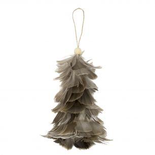 Hanging decoration tree goose grey (anseriformes / anatidae)