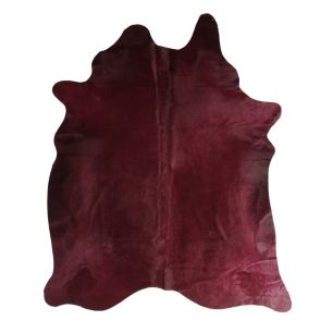 Carpet cow colour bordeaux (bos taurus taurus)