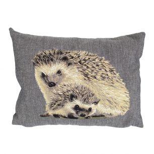Gobelin cushion hedgehog 30x45cm