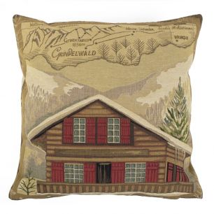 Gobelin cushion chalet grünwald 45x45cm