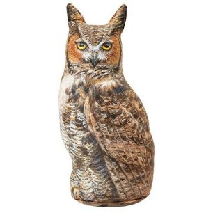 Door stopper great horned owl 37cm