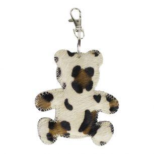 Key chain bear panther (bos taurus taurus)