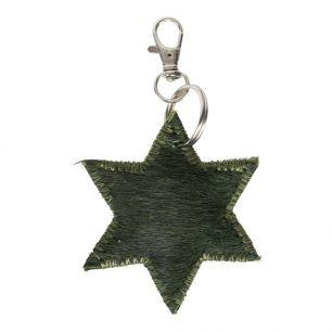 Key chain mini star green (bos taurus taurus)