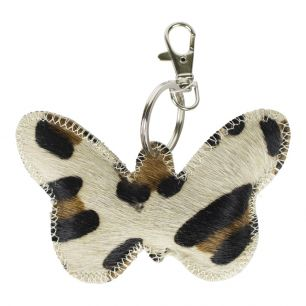 Key chain butterfly panther (bos taurus taurus)