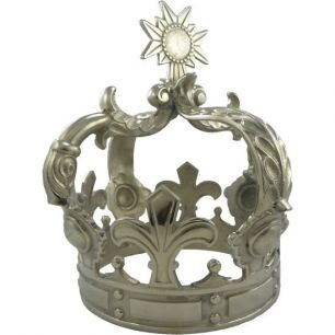Crown silver large