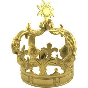 Crown gold large
