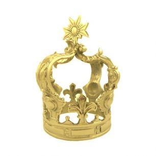 Crown gold medium