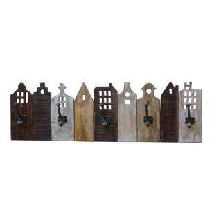 Vintage coat rack 5 houses