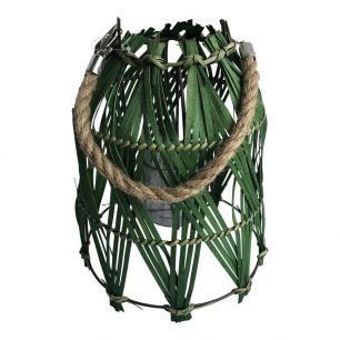 Lantern pendant grass 28cm