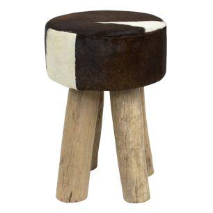 Stool cow dark brown round (bos taurus taurus)