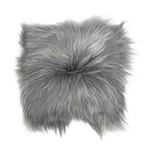 Seat pad sheep iceland grey 37x37cm (ovis aries)
