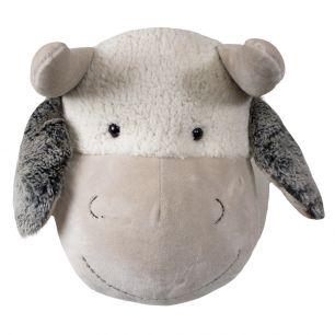 Cuddly toy wall head cow 40cm