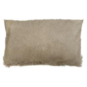 Cushion goat beige 30x50cm (capra aegagrus hircus)