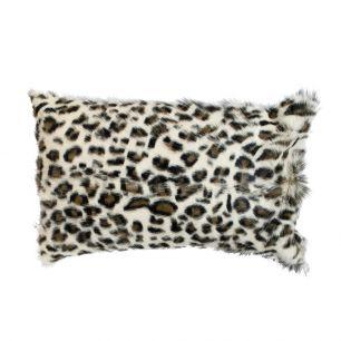 Cushion goat leopard brown 30x50cm (capra aegagrus hircus)