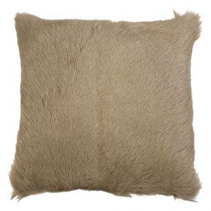 Cushion goat beige 40x40cm (capra aegagrus hircus)