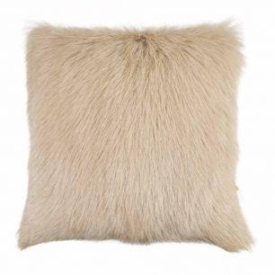 Cushion goat cream 40x40cm (capra aegagrus hircus)