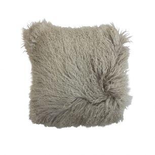 Cushion sheep curly hair 40x40cm
