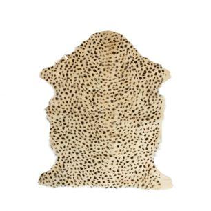 Fur goat leopard brown 60x90cm (capra aegagrus hircus)