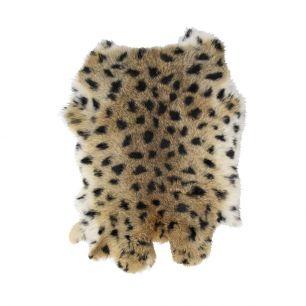 Fur rabbit panther (oryctolagus cuniculus)