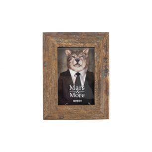 Photo frame printed wood nature 10x15cm