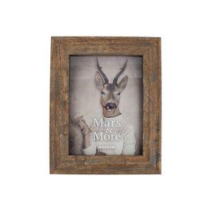 Photo frame printed wood nature 15x20cm