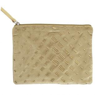 Case velvet gold 15x21cm