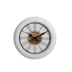 Wall clock 30cm white amsterdam